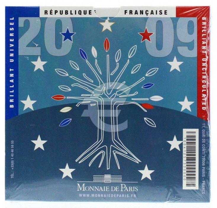 France Coffret BU 2009 Monnaie de Paris