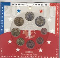 France Coffret BU 2010 -  8 Monnaies