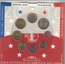 France Coffret BU 2010 -  8 Monnaies
