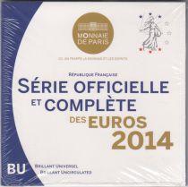 France Coffret BU 2014 - 8 pièces euros Monnaie de Paris