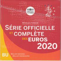 France Coffret BU 2020 - 8 pièces euros Monnaie de Paris