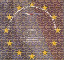 France Coffret BU 8 monnaies  - Premiers Euros 2001