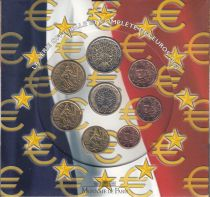 France Coffret BU France 2004 - 8 monnaies en euro