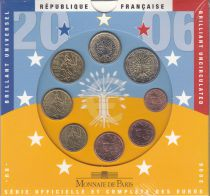 France Coffret BU France 2006 - 8 monnaies en euro