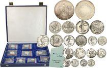 France Coffret Piéforts 1980 - 10 monnaies