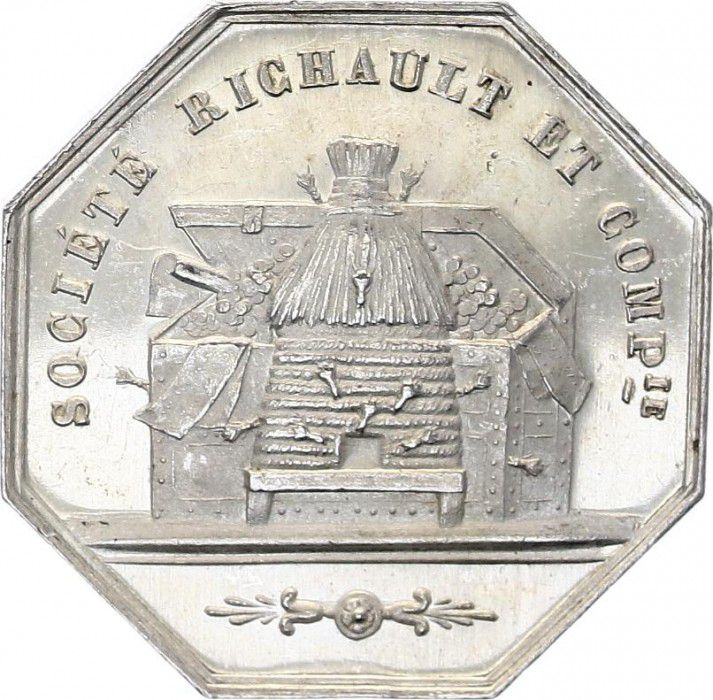 France Comptoir d\'Escompte d\'Orléans - 1854