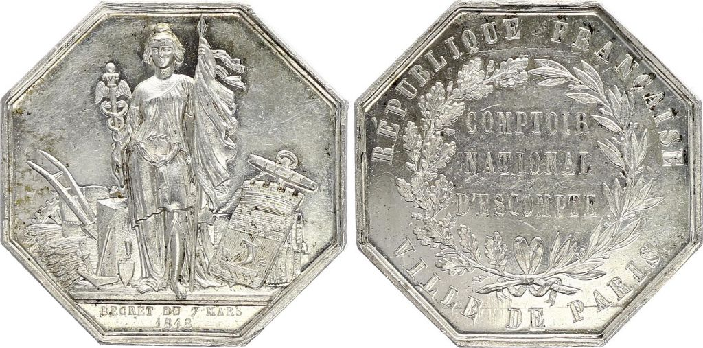 France Comptoir national d?escompte -  1848
