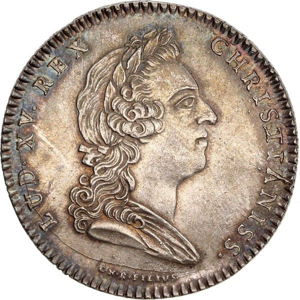 France Conseillers du Roi et Notaires - 1720 - Buste de Louis XV