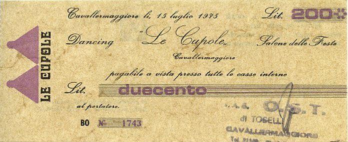 France Dancing La Coupole years 1974 - 1975