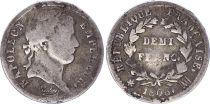 France Demi Franc Napoléon I - 1808 MA Marseille