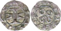 France Denier, Comté de Melgueil - 1080-1130 - 2ème ex TTB