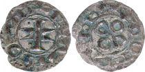 France Denier, Comté de Melgueil - 1080-1130 - 5ème ex TB
