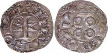 France Denier, Comté de Melgueil - 1080-1130 - 6ème ex TTB