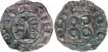 France Denier, County of Melgueil - 1080-1130 - 4nd ex XF