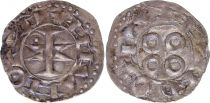 France Denier, County of Melgueil - 1080-1130 - 6nd ex VF
