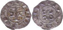 France Denier, County of Melgueil - 1080-1130 - 7nd ex VF