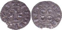 France Denier, County of Melgueil - 1080-1130 - 8nd ex VF