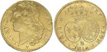 France Double Louis d\'or, Louis XV - 1749 BB Strasbourg - Gold