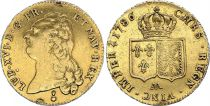 France Double Louis d\'or, Louis XVI - 1786 AA - Metz - VF - GOLD