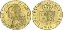 France Double Louis d\'or, Louis XVI - 1786 D Lyon
