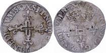 France Double sol parisis - Argent - 1580 X Amiens