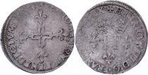 France Double sol parisis - Argent - 1584 A Paris