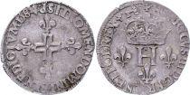 France Double sol parisis - Argent - 1584 P Dijon