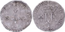 France Double sol parisis - Silver - 1578 S Reims