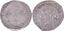 France Double sol parisis - Silver - 1579 D Lyon