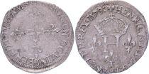 France Double sol parisis - Silver - 1579 D Lyon