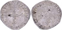 France Double sol parisis - Silver - 1586 A Paris