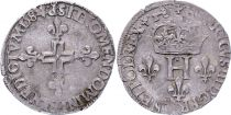 France Double sol parisis - Silver- 1584 P Dijon