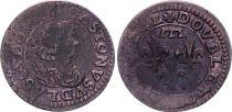 France Double Tournois,  Gaston d\'Orléans  - 1642