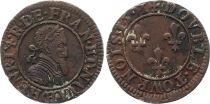 France Double tournois - Henri IV - 1591 CH