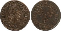 France Double Tournois Louis XIII - 1638 B Rouen