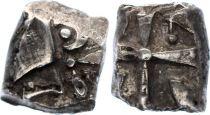 France Drachme, Volcae Tectosages - Drachm Cubist head - 2 e ex