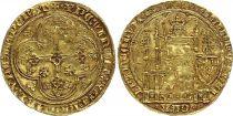 France Ecu d\'Or à la Chaise, Philippe VI de Valois (1328-1350) - 1349