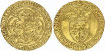 France Ecu d\'Or à la Couronne, Charles VI (1380-1422) - TTB - Or - 2nd ex