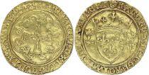 France Ecu d\'Or à la Couronne, Charles VII (1422-1461)