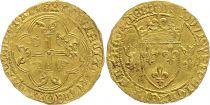 France Ecu d\'Or à la couronne, Louis XI (1461-1483) - Montpellier