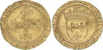 France Ecu d\'Or au Soleil, Charles VIII (1483-1498) - TTB - Toulouse