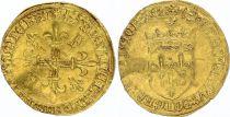 France Ecu d\'Or au Soleil, François Ier - 1515-1547 - F+ - 2nd ex