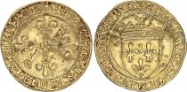 France Ecu d\'Or au Soleil, François Ier - 1515-1547 - Lyon TTB 2 em Type