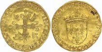 France Ecu d\'Or au Soleil, François Ier - 1515-1547 - Lyon TTB