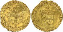 France Ecu d\'Or au Soleil, François Ier - 1515-1547 - TB + 1EX