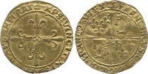 France Ecu d\'Or au Soleil, François Ier - Type du Dauphiné Cremieu (1515-1540) - VF
