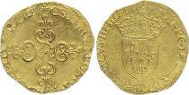 France Ecu d\'Or au Soleil, Henri III - 1575 B Rouen
