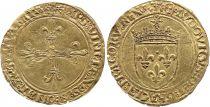France Ecu d\'Or au Soleil, Louis XII (1498-1514) - Bayonne - VF