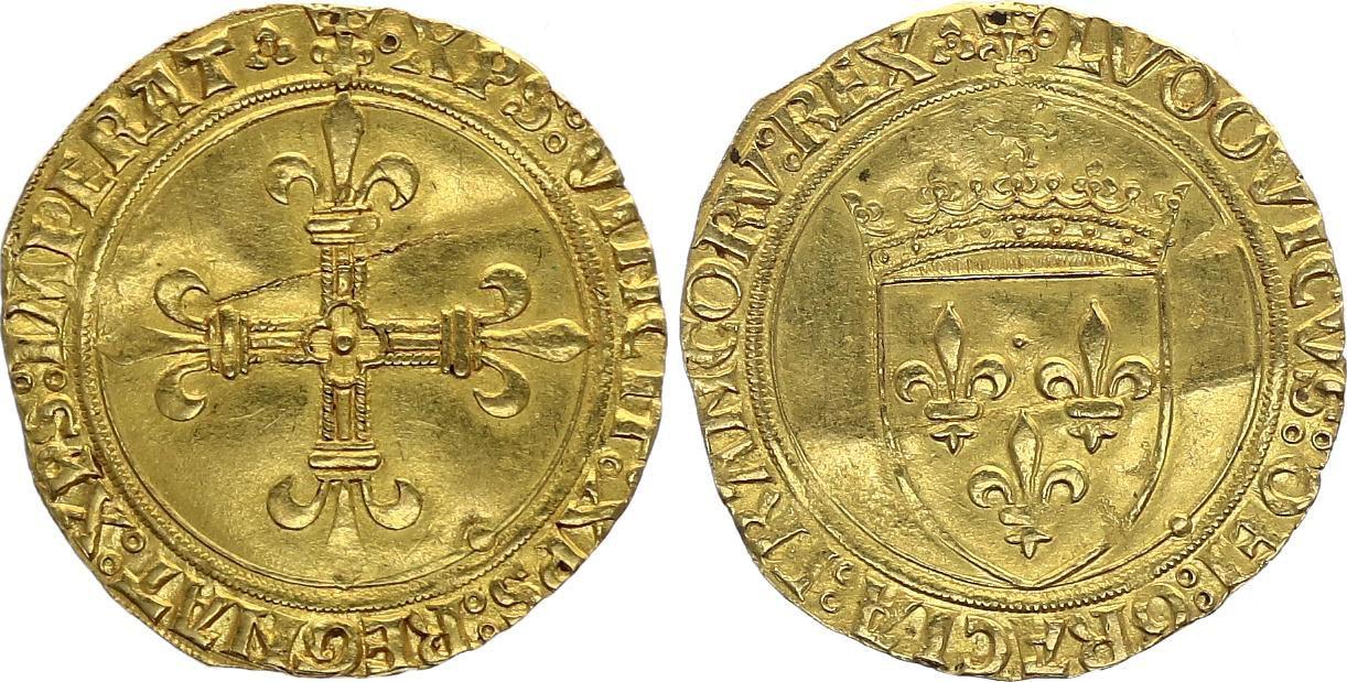 France Ecu d\'Or au Soleil, Louis XII (1499-1514) - Lyon