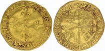 France Ecu d\'Or François Ier - Type du Dauphiné Romans (1515-1540) - TTB